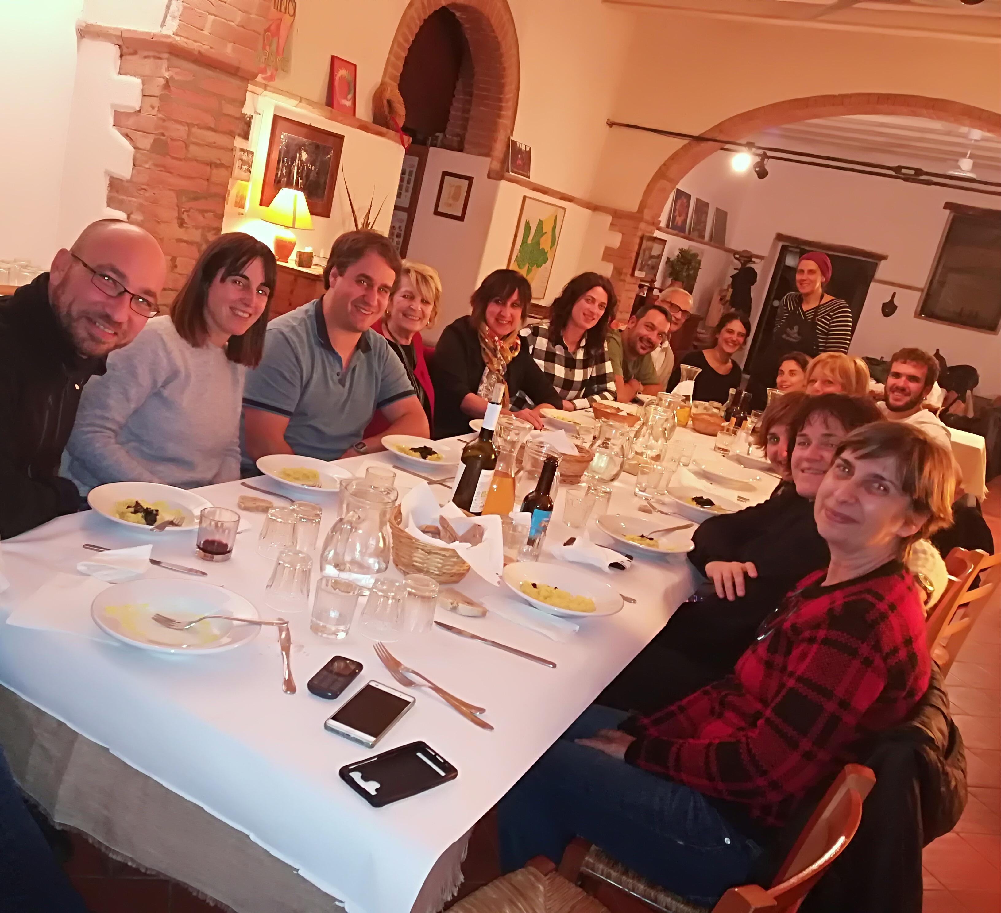Gruppo presso Torre Colombaia Perugia