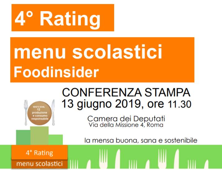 4 rating dei menu conferenza stampa alla camera dei for Rassegna stampa camera deputati